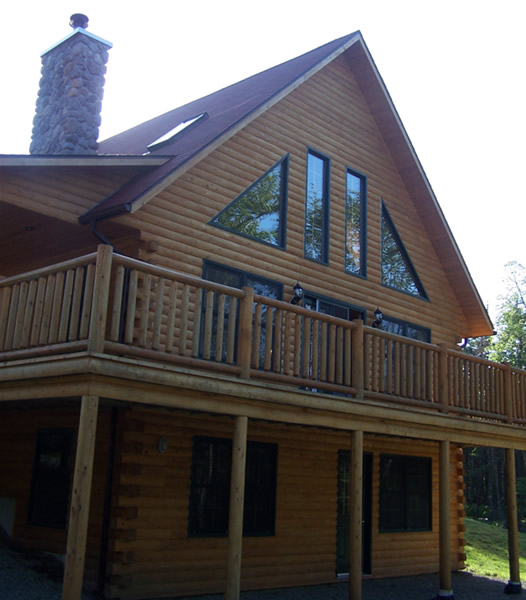 Luxury log cabin for sale
